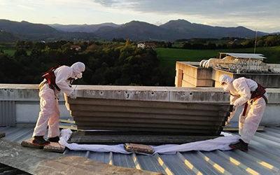 Retirada de amianto friable por toda España