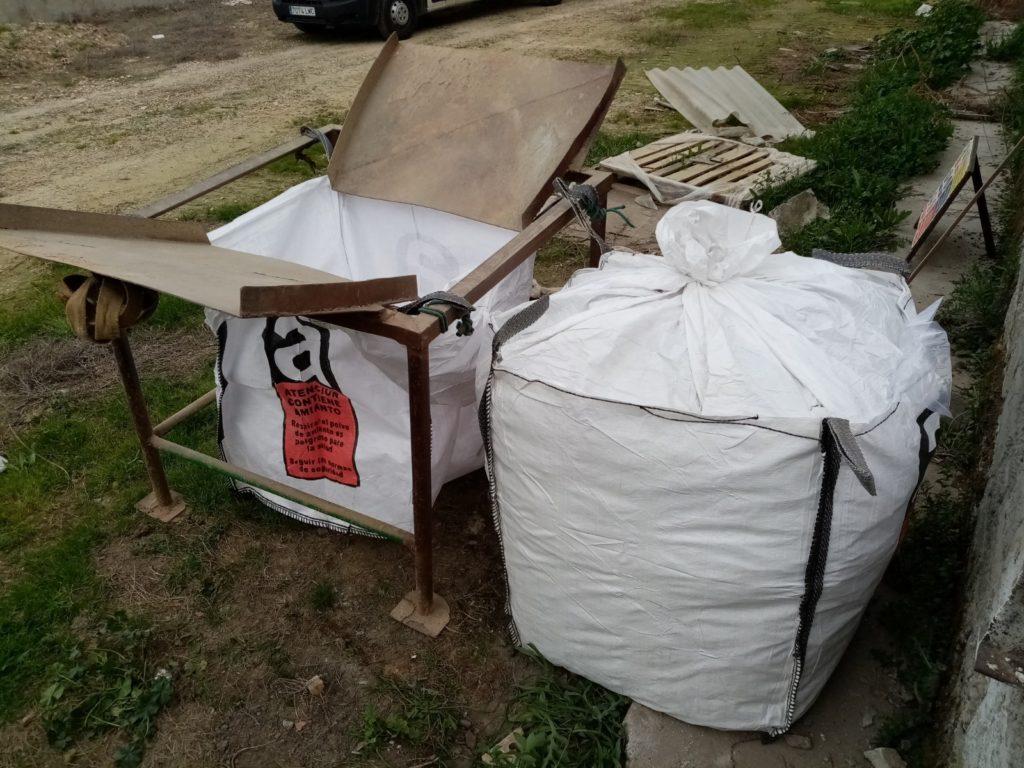 sacas amianto