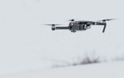 Nuestro trabajo de retirada de amianto a vista de dron
